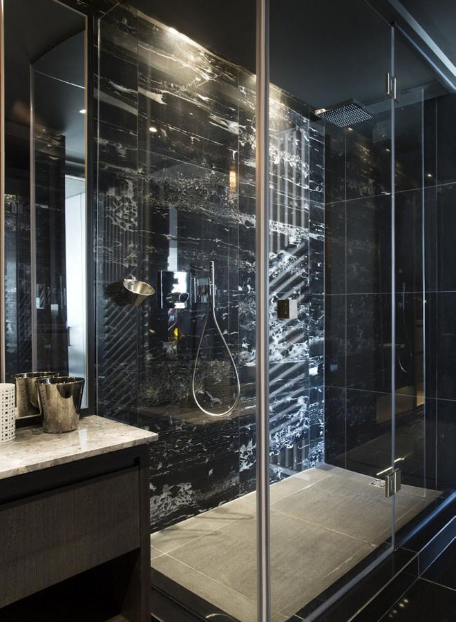 Trang trí phòng tắm sang chảnh hết nấc bằng đá cẩm thạch (7)