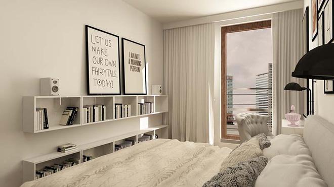 Tranh chữ slogan - Xu hướng trang trí nội thất của năm (5)