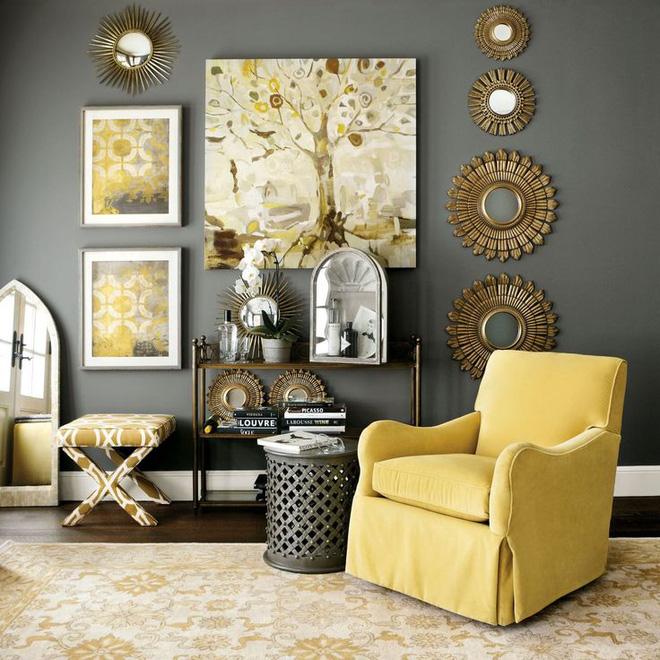14 mẫu phòng khách vàng-xám đẹp xuất sắc (5)