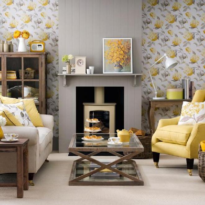 14 mẫu phòng khách vàng-xám đẹp xuất sắc (7)