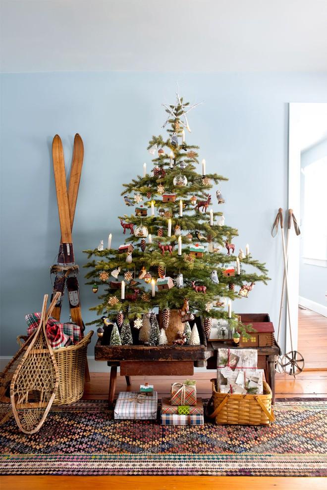 cách trang trí cây thông noel mini truyền thống