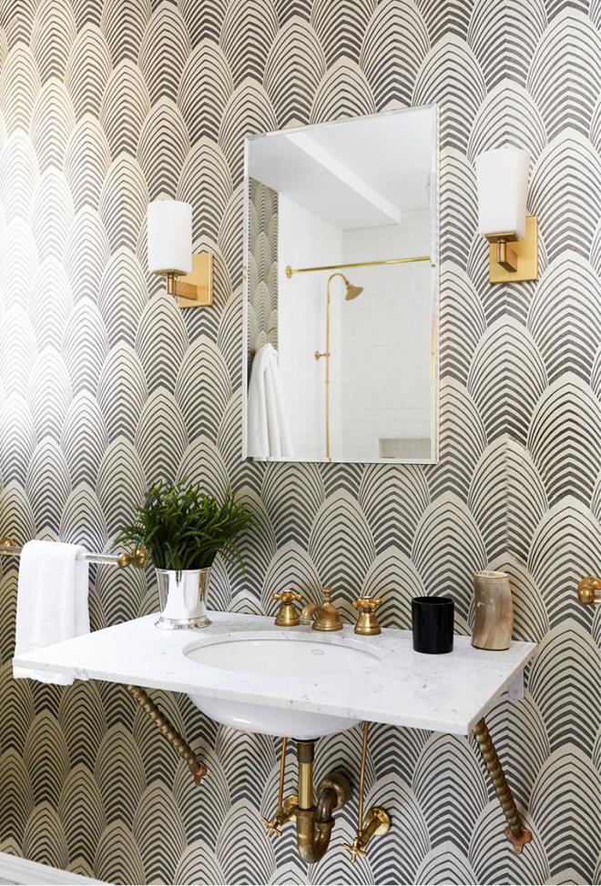 3 yếu tố không nên xem nhẹ khi trang trí phòng tắm phong cách Art Deco - Nhà Đẹp Số (1)
