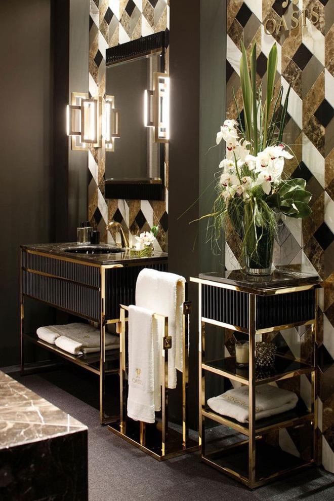 3 yếu tố không nên xem nhẹ khi trang trí phòng tắm phong cách Art Deco - Nhà Đẹp Số (4)