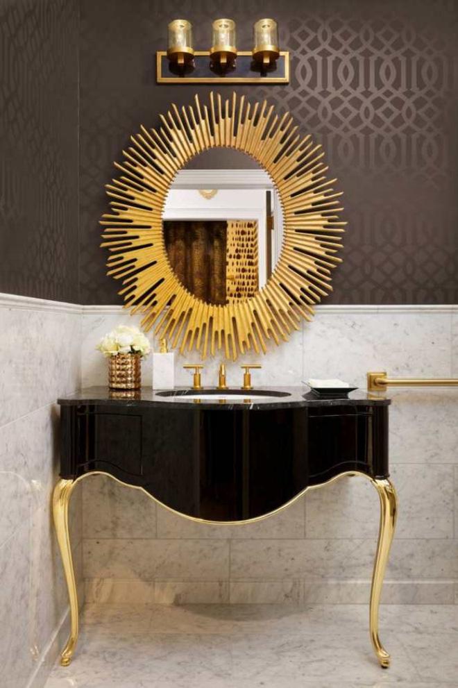 3 yếu tố không nên xem nhẹ khi trang trí phòng tắm phong cách Art Deco - Nhà Đẹp Số (9)