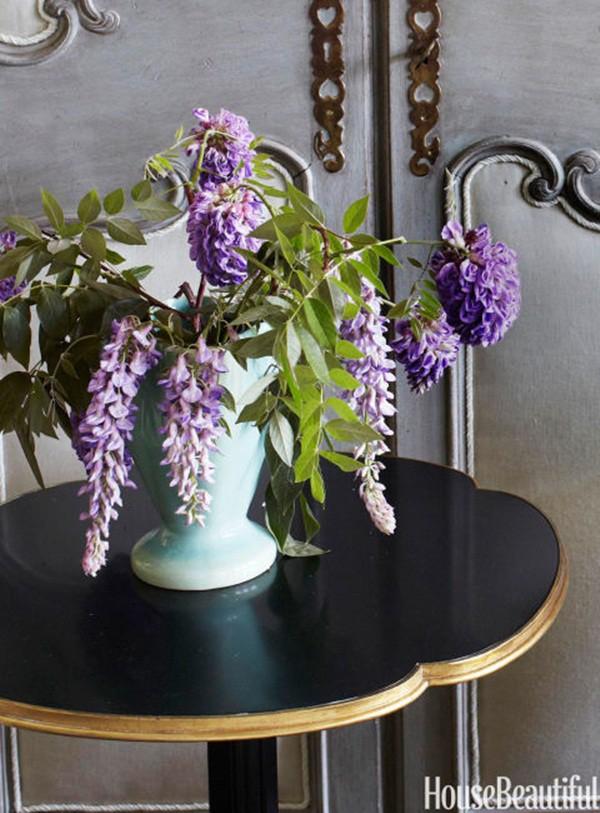 30 ý tưởng trang trí nhà đẹp bằng hoa (10)