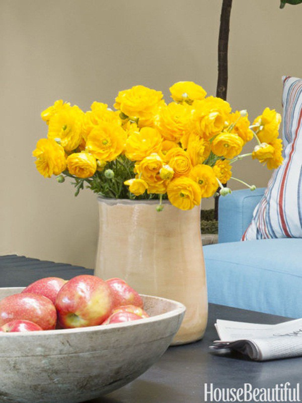 30 ý tưởng trang trí nhà đẹp bằng hoa (12)