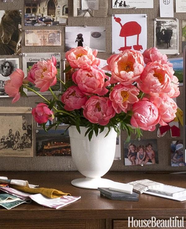 30 ý tưởng trang trí nhà đẹp bằng hoa (14)