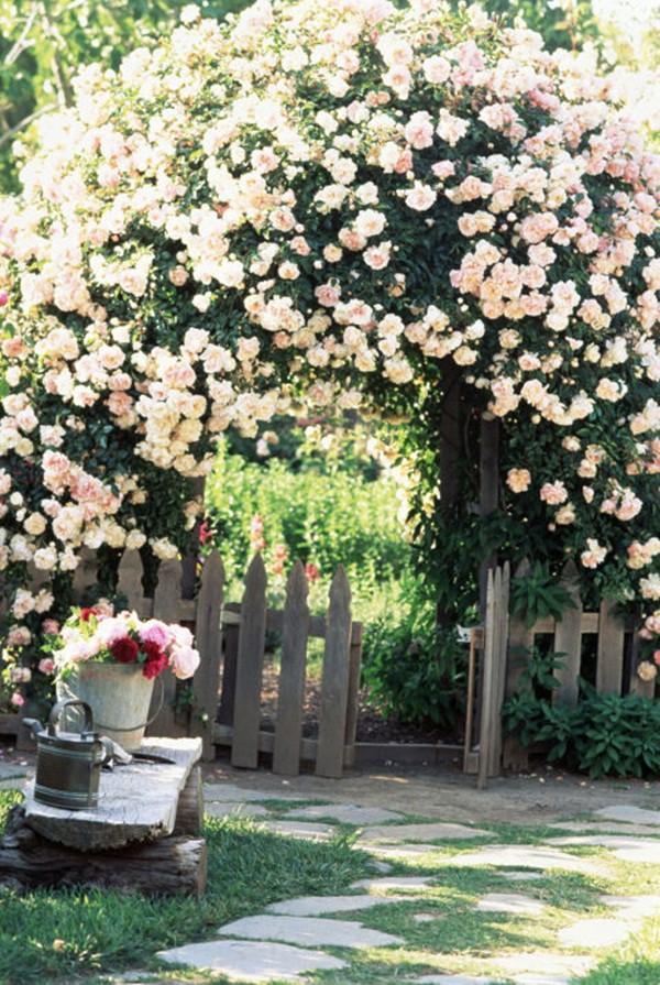 30 ý tưởng trang trí nhà đẹp bằng hoa (17)
