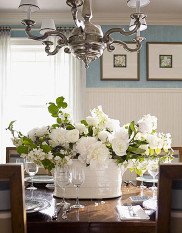 30 ý tưởng trang trí nhà đẹp bằng hoa (2)