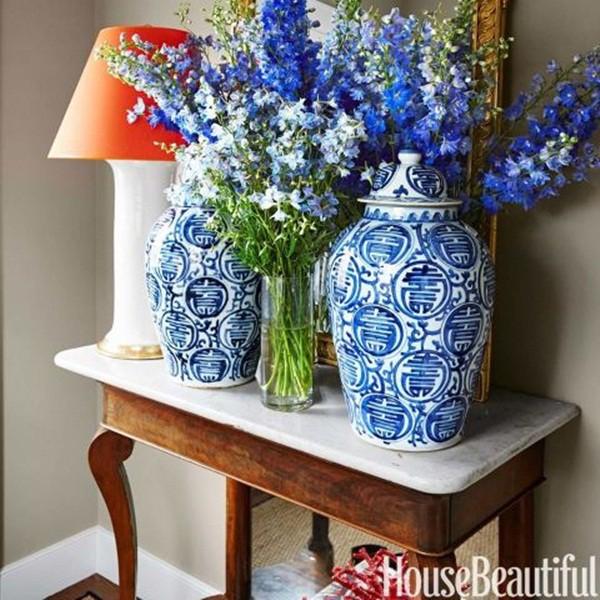30 ý tưởng trang trí nhà đẹp bằng hoa (29)
