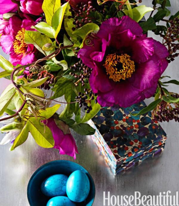 30 ý tưởng trang trí nhà đẹp bằng hoa (4)