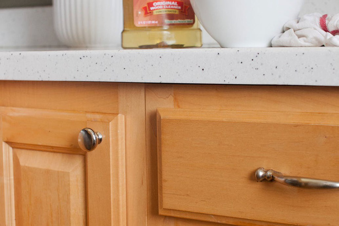 5 bước làm sạch tủ bếp gỗ hiệu quả - Nhà Đẹp Số (1)