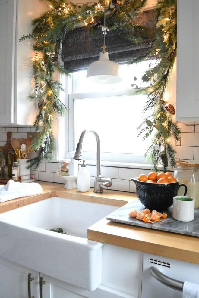 Các ý tưởng hay ho trang trí cửa sổ mừng Giáng sinh - Nhà Đẹp Số (10)