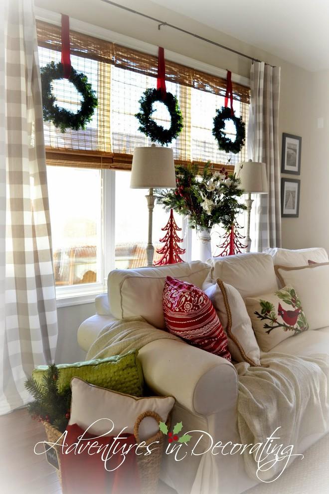 Các ý tưởng hay ho trang trí cửa sổ mừng Giáng sinh - Nhà Đẹp Số (17)