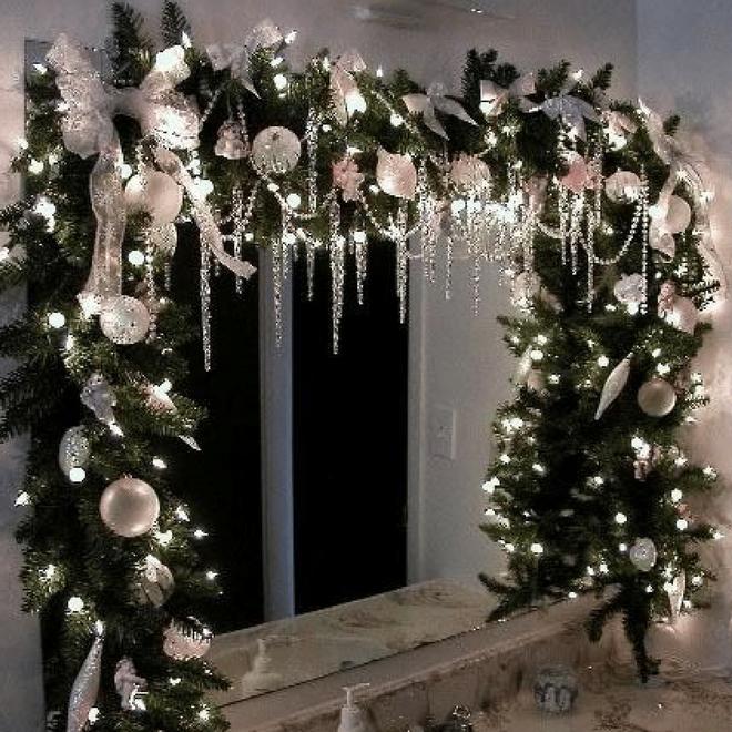 Các ý tưởng hay ho trang trí cửa sổ mừng Giáng sinh - Nhà Đẹp Số (3)