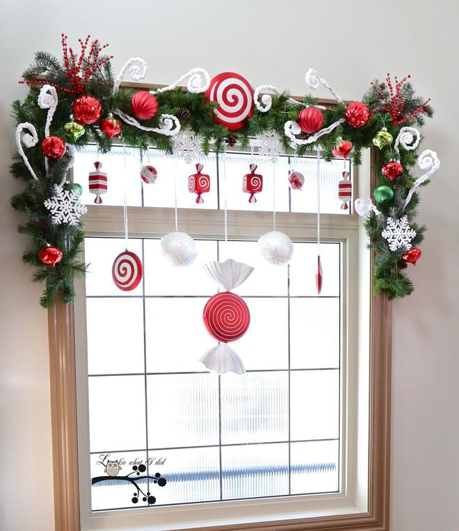 Các ý tưởng hay ho trang trí cửa sổ mừng Giáng sinh - Nhà Đẹp Số (7)