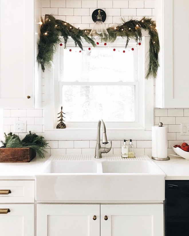 Các ý tưởng hay ho trang trí cửa sổ mừng Giáng sinh - Nhà Đẹp Số (8)