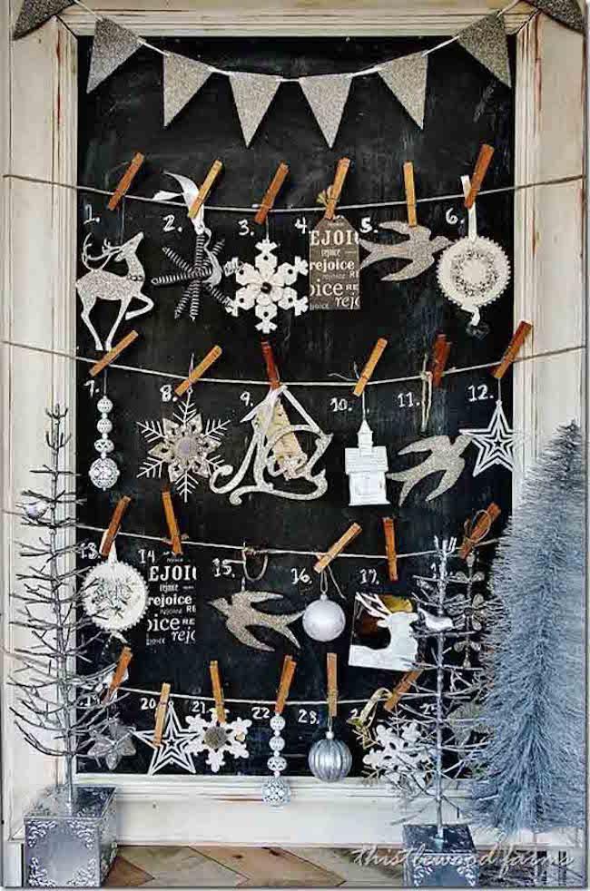 Các ý tưởng hay ho trang trí cửa sổ mừng Giáng sinh - Nhà Đẹp Số (9)