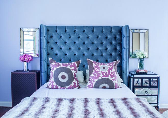 Các ý tưởng trang trí tường đầu giường phòng ngủ thêm lung linh - Nhà Đẹp Số (1)