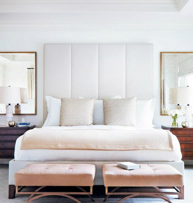Các ý tưởng trang trí tường đầu giường phòng ngủ thêm lung linh - Nhà Đẹp Số (2)