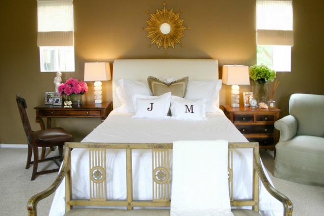 Các ý tưởng trang trí tường đầu giường phòng ngủ thêm lung linh - Nhà Đẹp Số (3)