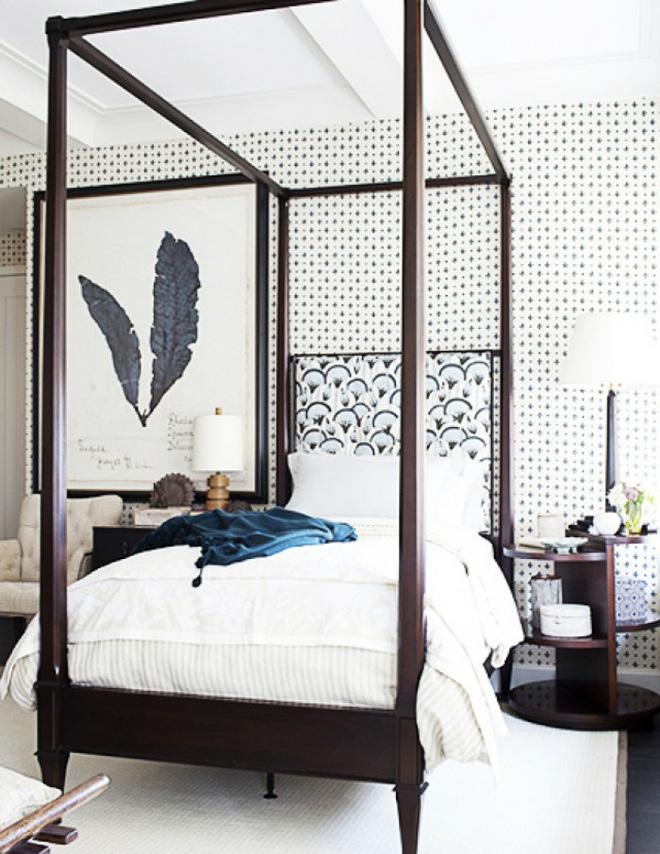 Các ý tưởng trang trí tường đầu giường phòng ngủ thêm lung linh - Nhà Đẹp Số (4)