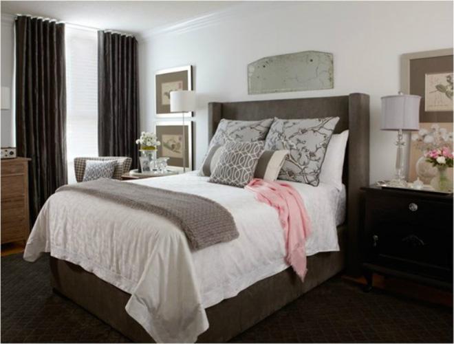 Các ý tưởng trang trí tường đầu giường phòng ngủ thêm lung linh - Nhà Đẹp Số (8)