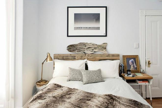 Các ý tưởng trang trí tường đầu giường phòng ngủ thêm lung linh - Nhà Đẹp Số (9)