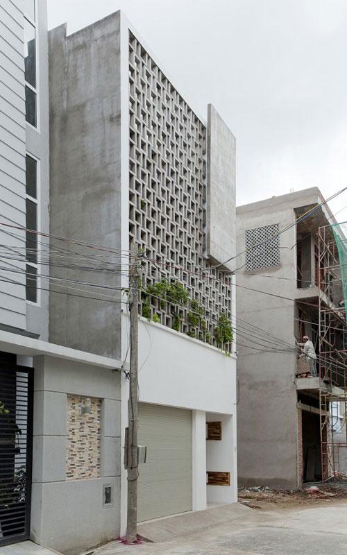 Không gian nhà phố tối giản ở ngoại ô Sài Gòn được khen ngợi hết lời nhờ thiết kế xanh - Nhà Đẹp Số (1)