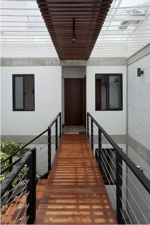 Minimalist townhouse in the outskirts of Saigon is praised thanks to the green design - Beautiful House Number (11)