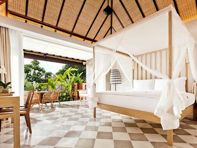 Không gian phòng ngủ thêm thơ mộng nhờ kiểu giường canopy - Nhà Đẹp Số (10)
