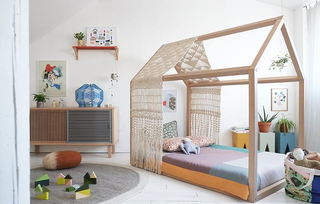 Không gian phòng ngủ thêm thơ mộng nhờ kiểu giường canopy - Nhà Đẹp Số (13)