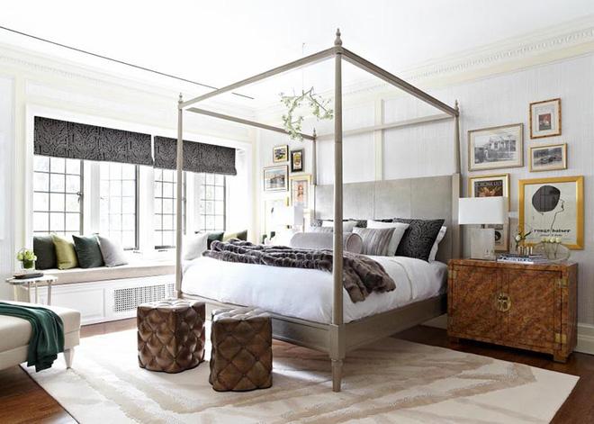 Không gian phòng ngủ thêm thơ mộng nhờ kiểu giường canopy - Nhà Đẹp Số (15)