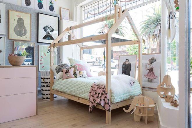 Không gian phòng ngủ thêm thơ mộng nhờ kiểu giường canopy - Nhà Đẹp Số (2)