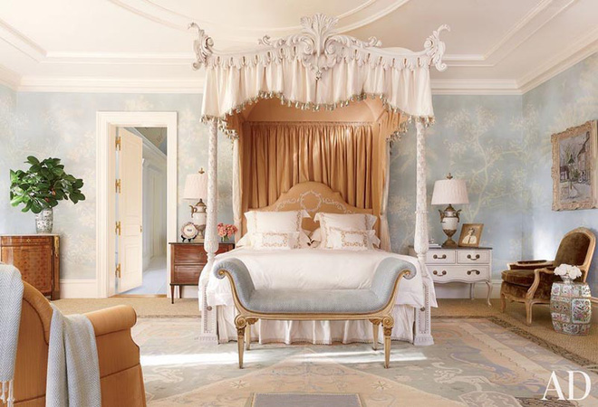 Không gian phòng ngủ thêm thơ mộng nhờ kiểu giường canopy - Nhà Đẹp Số (5)