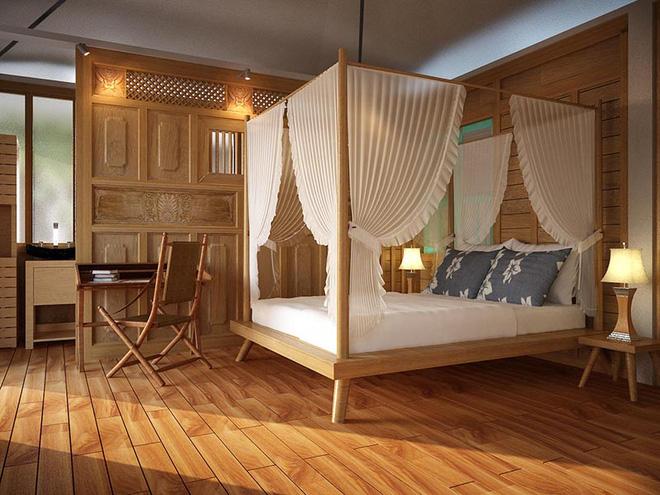 Không gian phòng ngủ thêm thơ mộng nhờ kiểu giường canopy - Nhà Đẹp Số (6)
