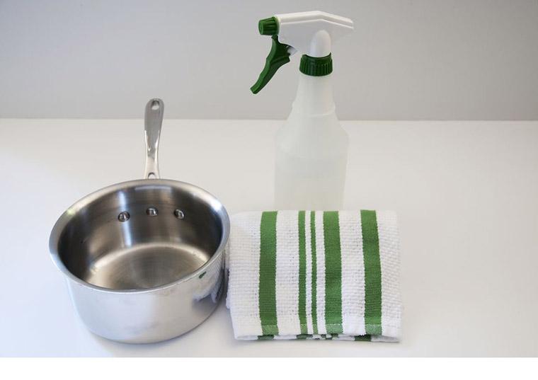 Làm sạch đồ dùng phòng bếp bằng thép không gỉ cần chú ý 5 điều này - Nhà Đẹp Số (3)