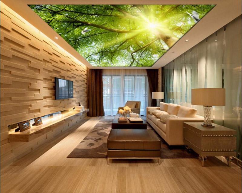 Mê mẩn những thiết kế trần nhà 3D sống động như thật - Nhà Đẹp Số (1)