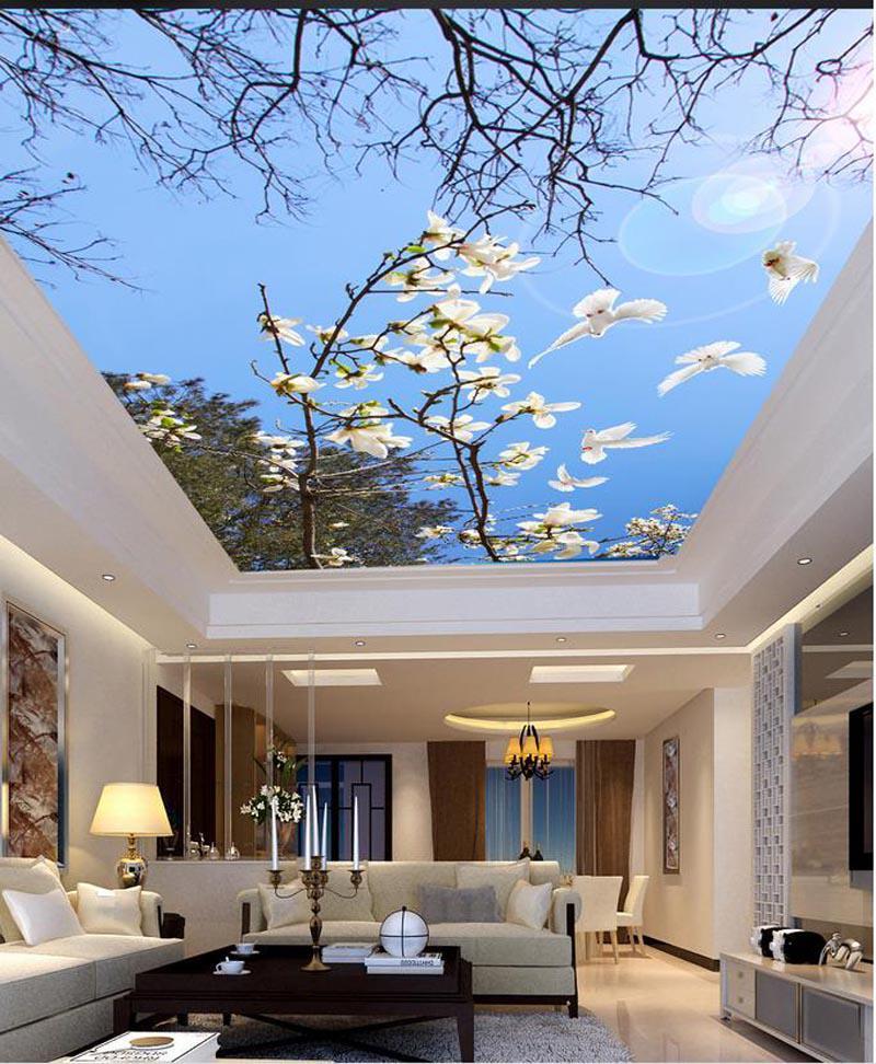 Mê mẩn những thiết kế trần nhà 3D sống động như thật - Nhà Đẹp Số (10)