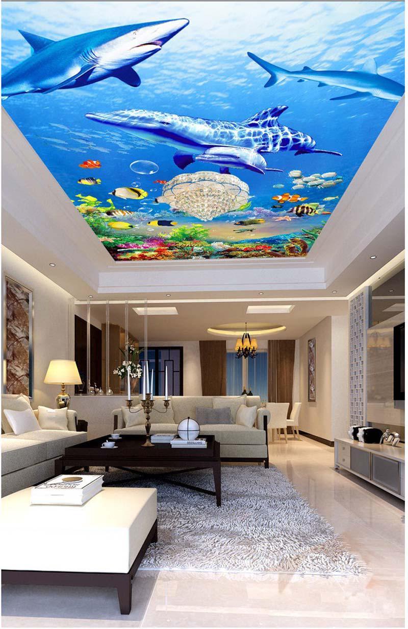 Mê mẩn những thiết kế trần nhà 3D sống động như thật - Nhà Đẹp Số (7)