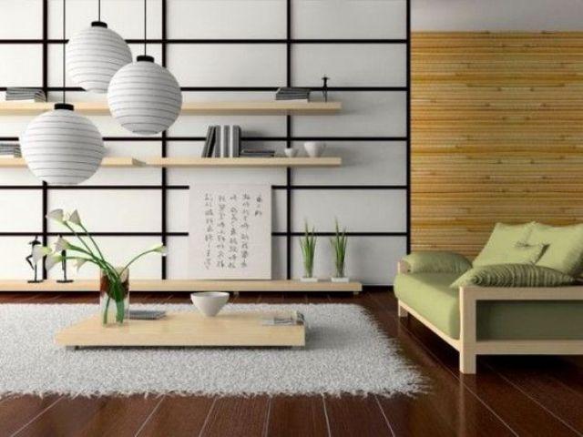 Những lưu ý khi thiết kế phòng khách theo phong cách tối giản của người Nhật - Nhà Đẹp Số (1)