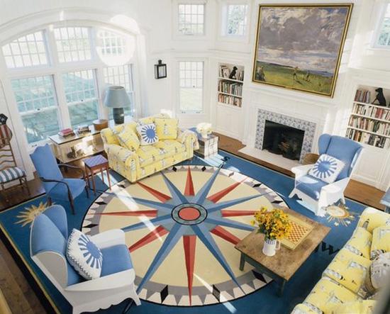 Những mẫu thảm trải sàn phòng khách độc đáo khó rời mắt - Nhà Đẹp Số (2)