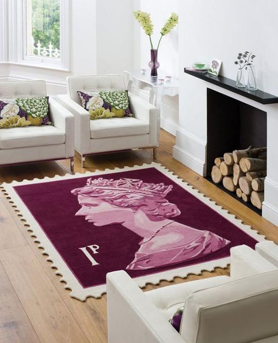 Những mẫu thảm trải sàn phòng khách độc đáo khó rời mắt - Nhà Đẹp Số (3)