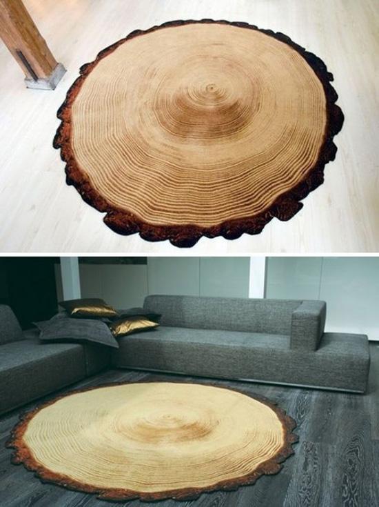 Những mẫu thảm trải sàn phòng khách độc đáo khó rời mắt - Nhà Đẹp Số (4)