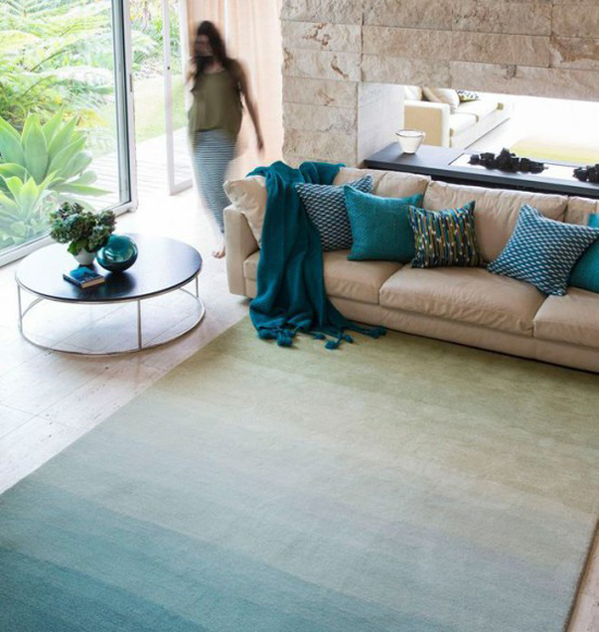 Những mẫu thảm trải sàn phòng khách độc đáo khó rời mắt - Nhà Đẹp Số (6)