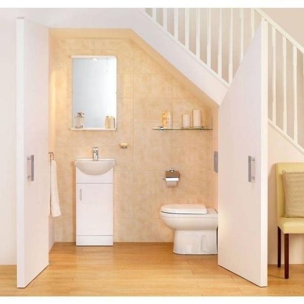 Những thiết kế phòng tắm nhỏ dưới gầm cầu thang nhưng đẹp mê ly ai cũng muốn sở hữu - Nhà Đẹp Số (3)