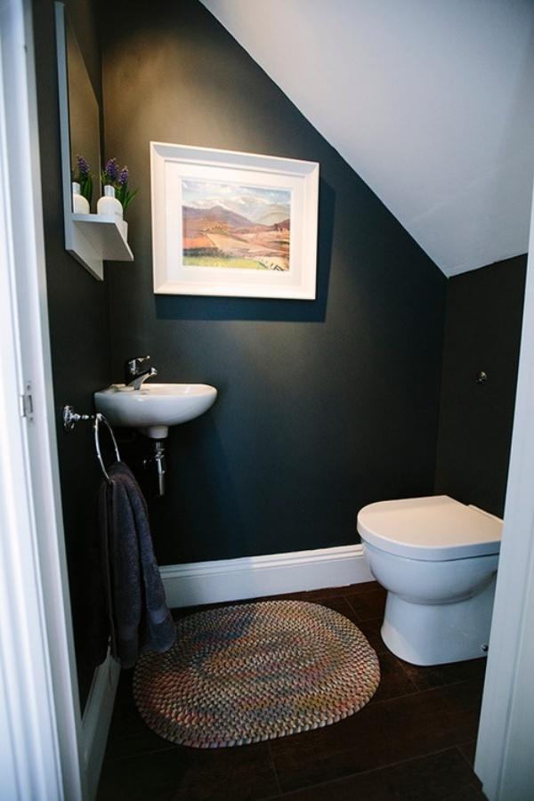 Những thiết kế phòng tắm nhỏ dưới gầm cầu thang nhưng đẹp mê ly ai cũng muốn sở hữu - Nhà Đẹp Số (4)