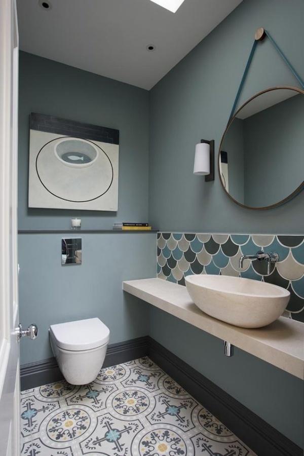 Những thiết kế phòng tắm nhỏ dưới gầm cầu thang nhưng đẹp mê ly ai cũng muốn sở hữu - Nhà Đẹp Số (5)