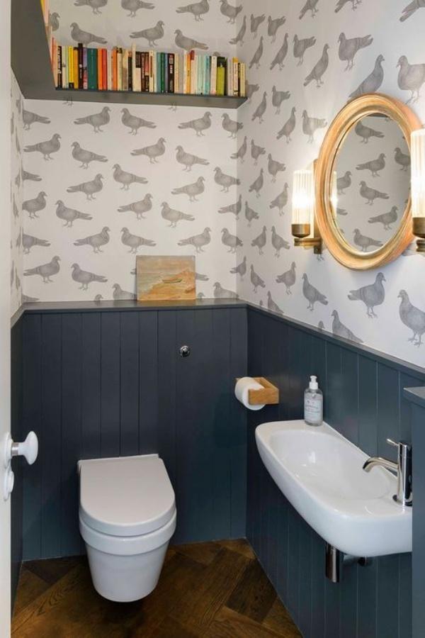 Những thiết kế phòng tắm nhỏ dưới gầm cầu thang nhưng đẹp mê ly ai cũng muốn sở hữu - Nhà Đẹp Số (6)