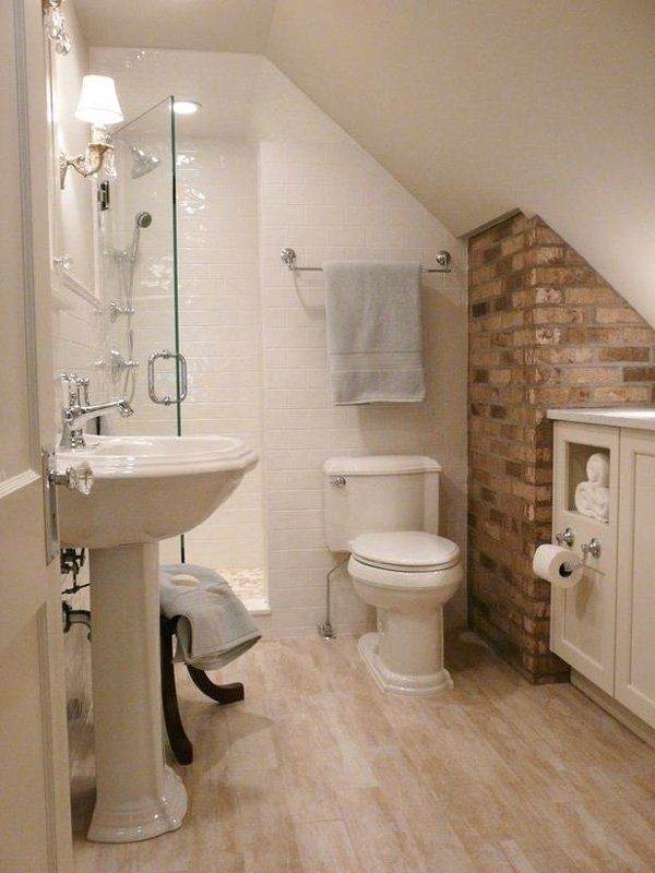 Những thiết kế phòng tắm nhỏ dưới gầm cầu thang nhưng đẹp mê ly ai cũng muốn sở hữu - Nhà Đẹp Số (7)